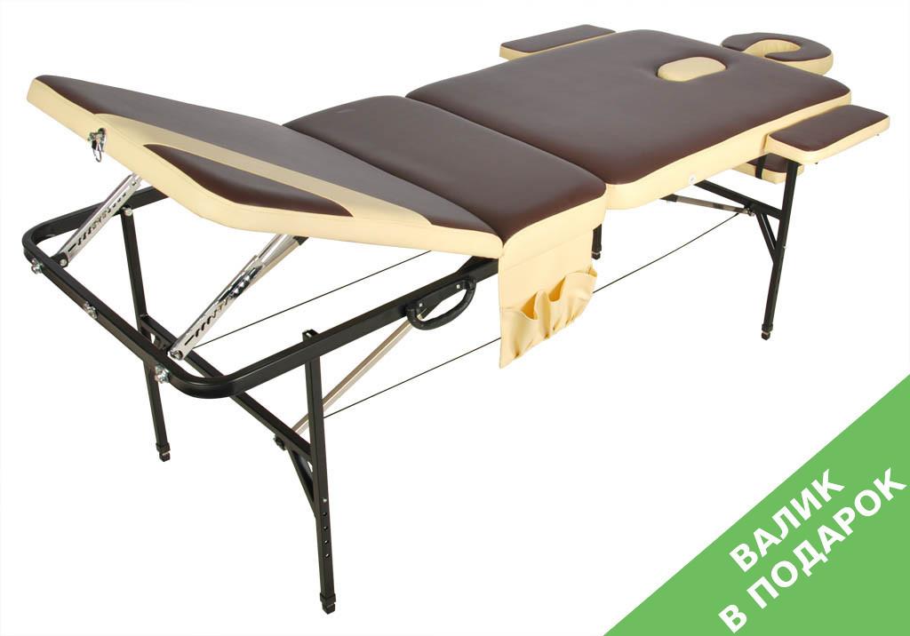 Стол массажный переносной со стальной рамой JFST02